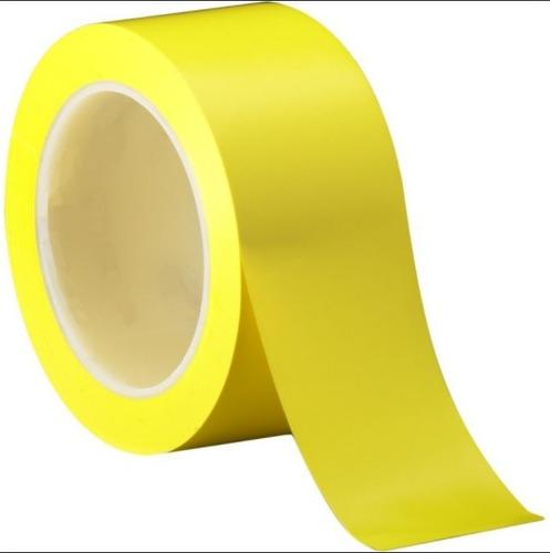 cinta banda adhesiva distanciamiento 5cmx32mt bioseguridad