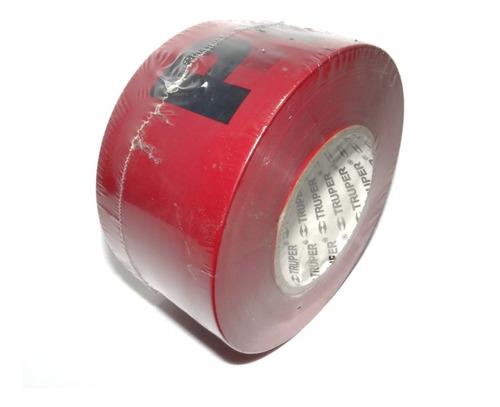 cinta banda roja  peligro  truper 304.8 metros cod. 12585