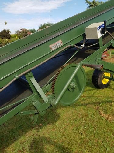 cinta banda  transportadora agrícola industrial eléctrica