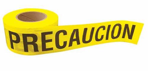 cinta barric precaucion 100m surtek 137297