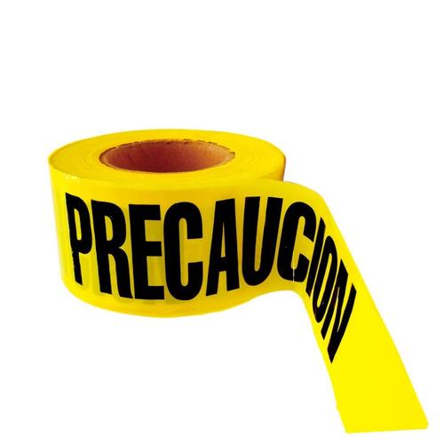 cinta barricada precaución peligro rollo 305m, 5 piezas