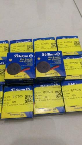 cinta bicolor calculadora pelikan remate lote nuevo
