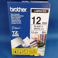 cinta brother tz 231 12mm 8 mts tz231 laminada original