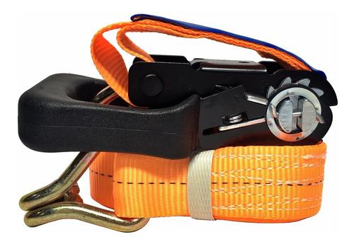 cinta c/ catraca para amarrar carga 35mm x 5,5 mts - 1500kg