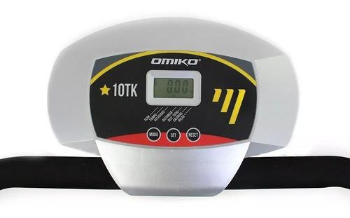 cinta caminadora magnética omiko 10tk plegable p o