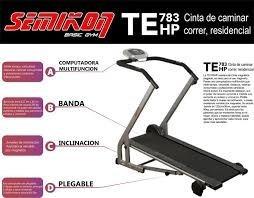 cinta caminadora plegable magnetica semikon oferta trp bikes