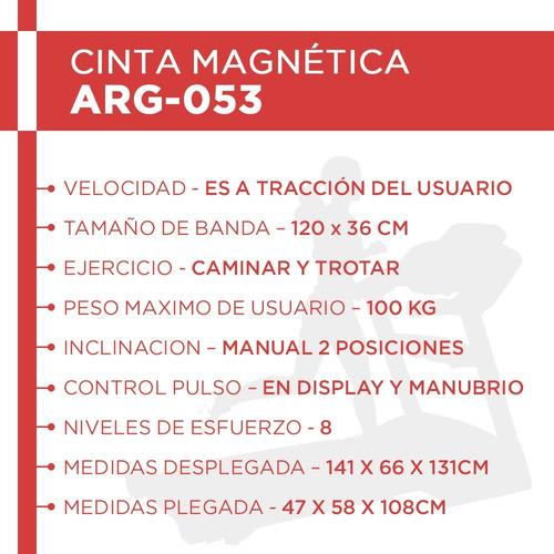 cinta caminar randers 053 magnetica cuotas sin interés