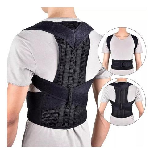 cinta colete reforçada corretor postura coluna lombar forte