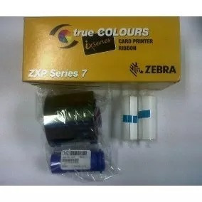 cinta color 6 ymcko zebra p/impresoras carnets p330i y p430i