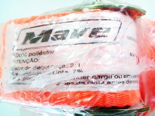 cinta com catraca mave p/ carga até 10 toneladas