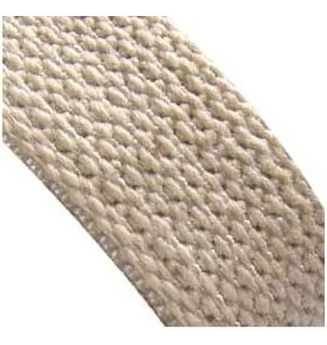 cinta correa para persiana blanca pesada reforzada x 10 mts