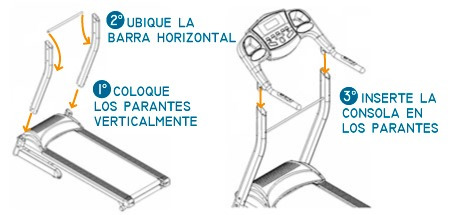 cinta correr caminar - enerfit 750 - 16 km/h caminadora