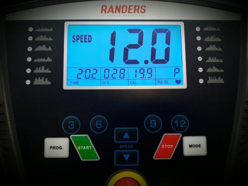 cinta correr randers arg 315 plegable 12km/h selectogar