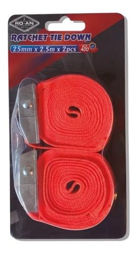cinta de amarre 25mm x 2.5 mts (no envios)