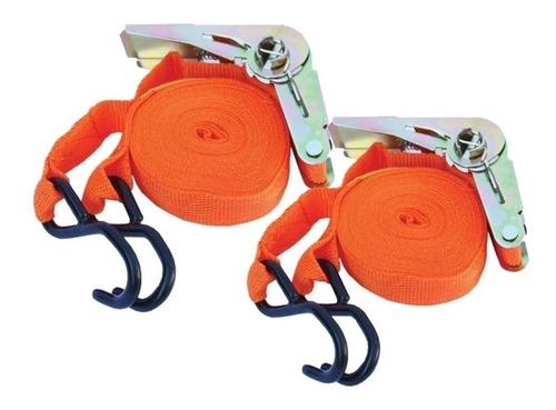 cinta de amarre c/crique x 2 uni - 2.5 x 5 mts, carga segura