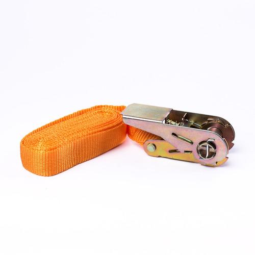 cinta de amarre con crique 1 x 3,5m oregon carga segura