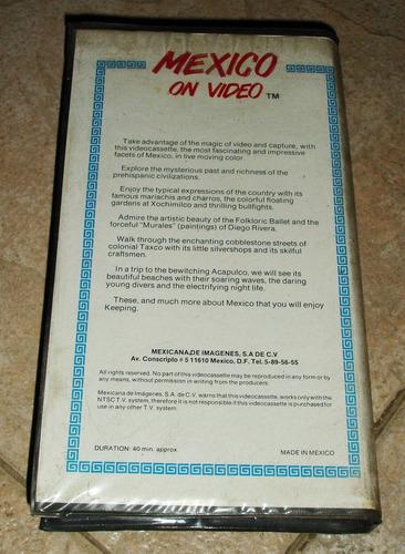 cinta de betamax , mexico en vivo