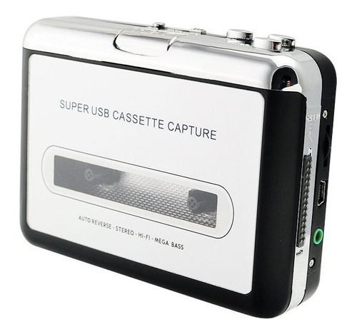 cinta de casete usb ipod mp3 cd converter captura audio músi