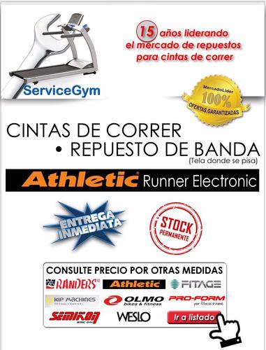 cinta de correr banda athletic runner y speedy 1 servicegym