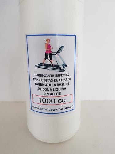 cinta de correr lubricante silicona 1 litro prof servicegym