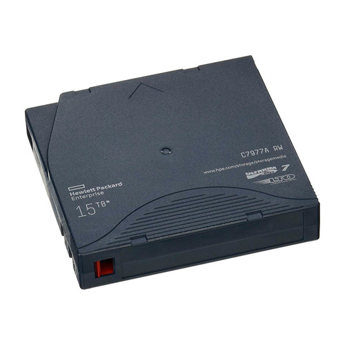 cinta de datos hp lto7 ultrium rw c7977a 15tb lto-7