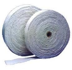 cinta de fibra de ceramica no amianto 50mm x 5 mts aislante