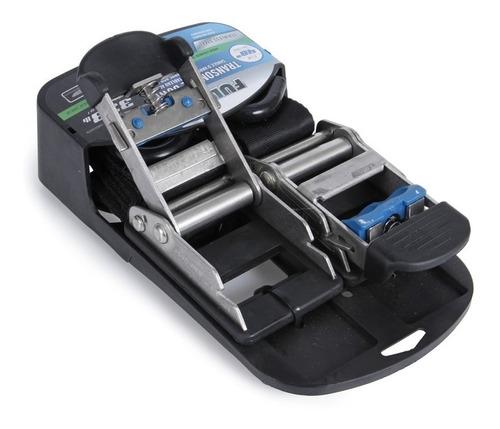 cinta de fixação para náuticas catraca 5 x 1,22  inox 151 kg