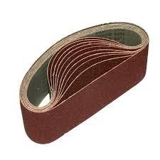 cinta de lixa c/ pano p/ madeira 457x75mm /10 pçs