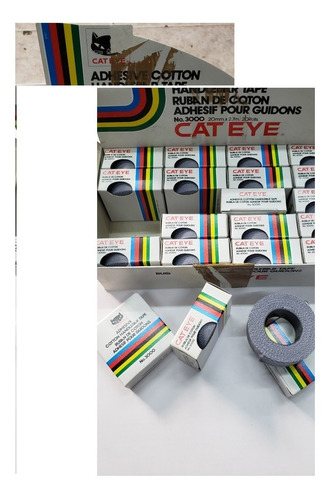 cinta de manubrio vintage cateye cotton tape japon