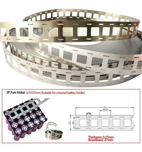 cinta de níquel para interconectar baterías de litio 18650