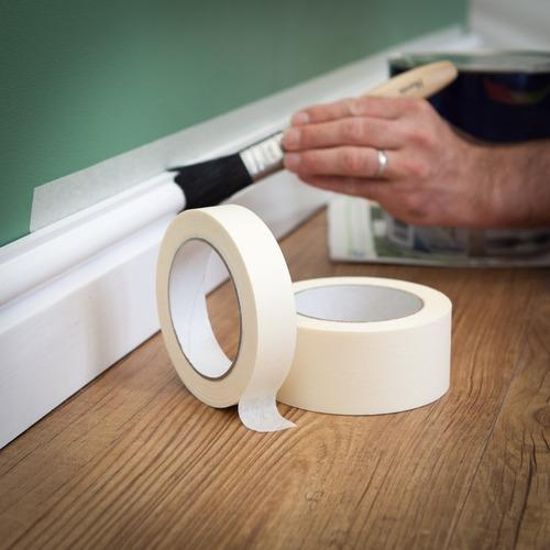 cinta de papel enmascarar 12mm x 50m