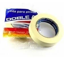 cinta de papel enmascarar pintor doble a a 24 mm