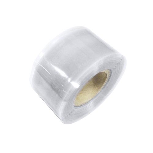 cinta de silicón autofusión, 1 x3m color transparente urrea