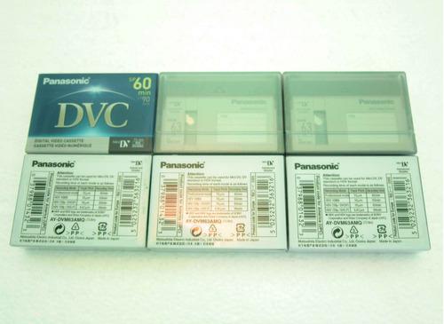 cinta de video cassette panasonic dvc mini dv filmadora
