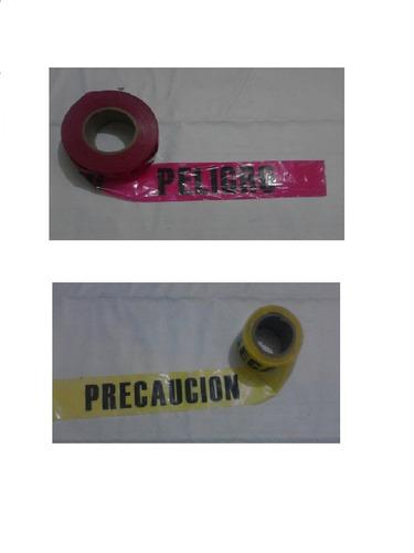 cinta delimitadora barricada no-adhesiva