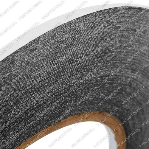 cinta doble cara 2mm x 50 metro 3m adhesiva + envío gratis