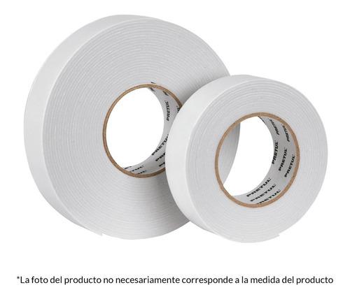 cinta doble cara de 19 mm x 5 m pretul by truper