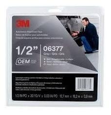 cinta doble faz 3m 12,7mm x 18 mts 6377 baguetas auto