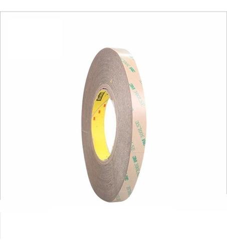 cinta doble faz 3m de 5mm x 0.3mm de espesor rollo 50m