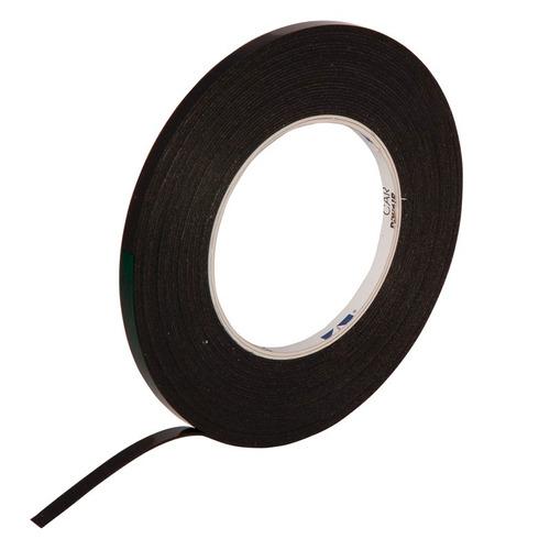 cinta doble faz 6mm rollo 10 mts pegado de insignias moldura