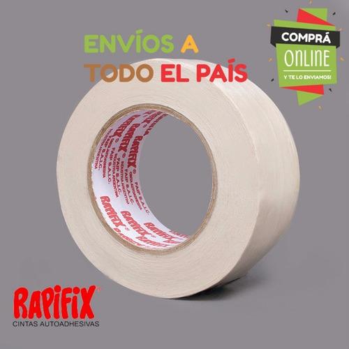 cinta doble faz papel rapifix para pegar alfombra 36mm x 30m