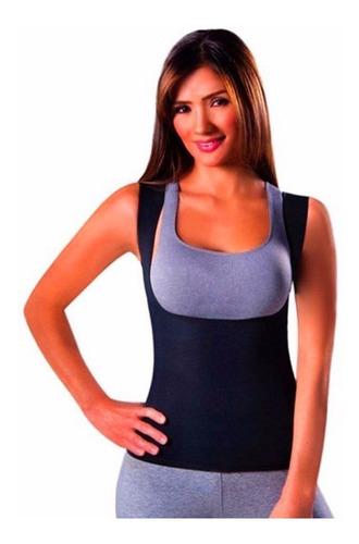 cinta emagrecedora queima gordura less now t-shirt feminina