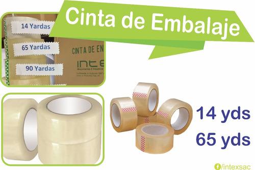 cinta embalaje 2 x 14 yd. x caja de 120 precio al por mayor