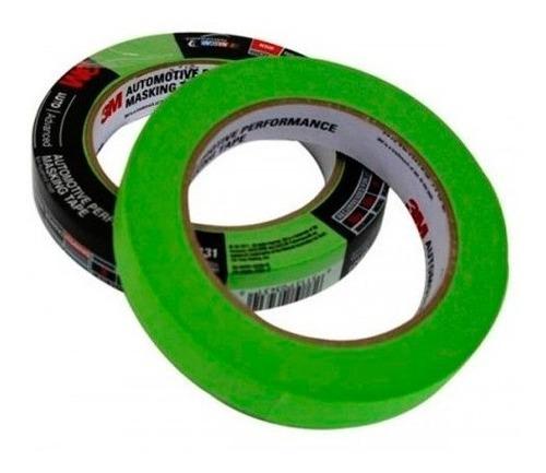 cinta enmascarar 233+ 1/2 x 55mt verde 3m 70006246444 ue48