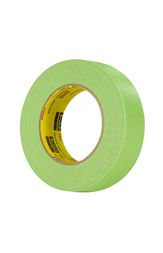 cinta enmascarar 233+  24mm*55mt verde 3m 70006246493 ue(24)