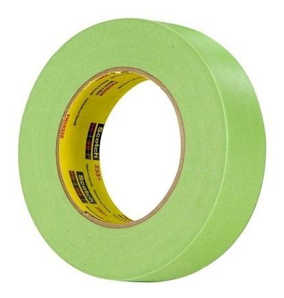 cinta enmascarar 233+ 3/4 *55mt verde 3m 70006246477 ue(48)