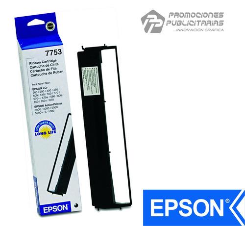 cinta epson 7753 negro 100% original lq-200/300/300+/400/450