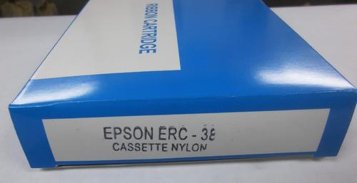 cinta epson generica erc-38 b impresora tm-u200a 210 220 230