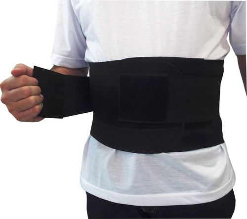 cinta faixa coluna lombar com  hastes flexíveis ar-600