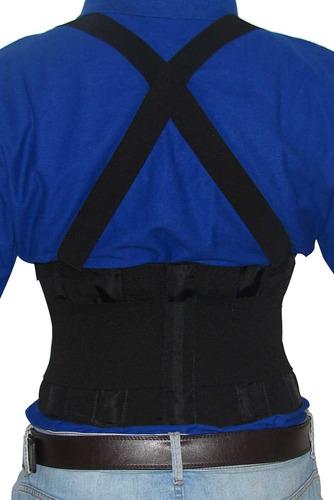cinta faixa lombar g - ajuda na correção postural da coluna